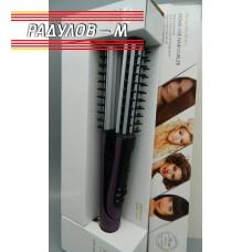 Стайлър за коса 2в1 с плочки за вълнички / 4851