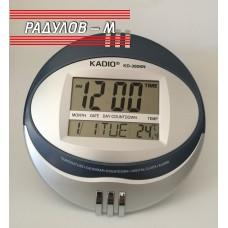 Електронен часовник стенен/настолен ф 27см / 1248