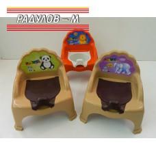 Детско гърне столче с капак / 200822
