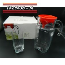 Комплект шест чаши с кана / 200953