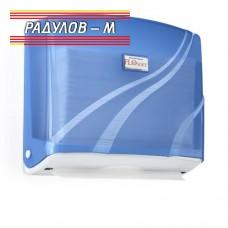 Диспенсър за хартиени кърпи FloSoft стенен, за 300 бр.  / 201113