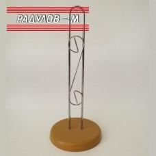 Поставка за домакинска хартия метална / 201170