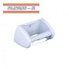 Държач за тоалетна хартия с прозрачен капак Zambak ZP237 / 201536