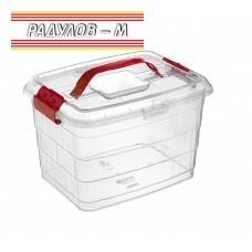 Мултифункционална кутия за съхранение Тетрис 5 lt / 201545