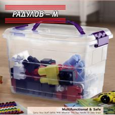Мултифункционална кутия за съхранение Тетрис 8 lt  / 201546