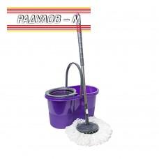 Spin mop - Комплект въртящ се моп с центрофуга за пране и изстискване Zambak Zp 188 / 201931