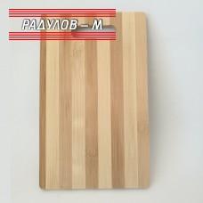 Дъска за рязане бамбук 16х26 см / 2342