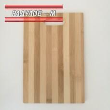 Дъска за рязане бамбук 19.5 х 29 см / 2343