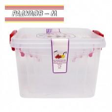 Комплект 4 броя квадратни кутии за храна / 30092