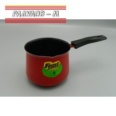 Джезве червено ф9.5см / 326