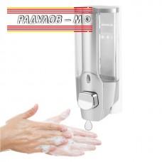Дозатор / диспенсър за течен сапун 350 мл, стенен монтаж / 4744