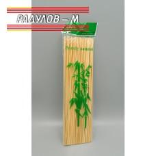 Дървени шишове 25см за барбекю / 4890