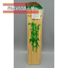 Дървени шишове 30см за барбекю / 4891
