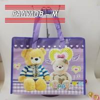 Пазарска чанта с цип  40*30 см, различни цветове / 504