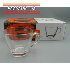 Комплект шест чаши 200мл / 5528