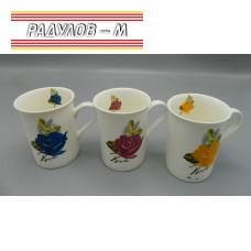 Чаша порцелан цветя / 6455