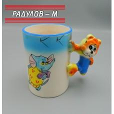 Чаша порцелан детска / 6461