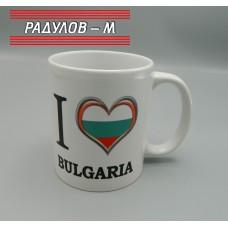 Чаша порцелан България / 6481