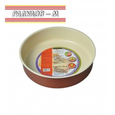 Tава с керамично покритие кръгла / 70125