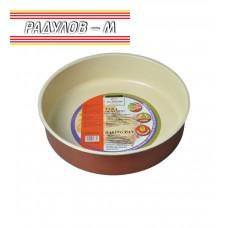 Tава с керамично покритие кръгла 32 см / 70125