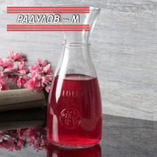 Гарафа Pasabahce Бакхус 1 литър за вино и други напитки / 800046