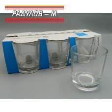 Комплект шест чаши за водка 190мл / 800181
