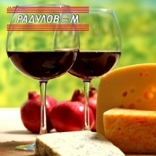 Комплект две чаши Енотека вино 630мл / 800240