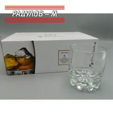 Комплект шест чаши за уиски 315мл / 800329
