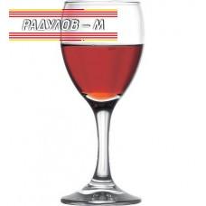 Комплект шест чаши червено вино 255 мл / 800554