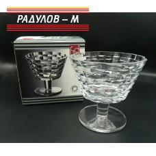 Купа на столче 15.3см Ратан кристал / 800845