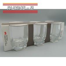 Комплект три чаши за уиски 315мл / 801077