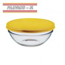Купа универсална стъкло с капак Pasabahce Chef's ф17см / 801776