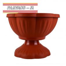 """Саксия """"Флора"""" с поставка 24 см / 320358"""