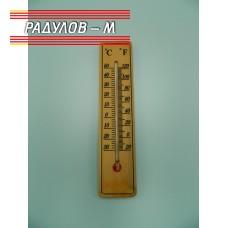 Термометър дървен / 2033