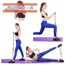 Тренировъчен ластик за фитнес и йога / 5669