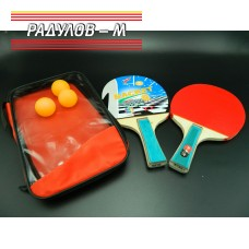 Хилки за тенис на маса в калъф / 118