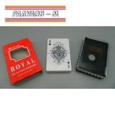 Карти за игра Royal с кутийка / 375