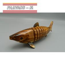Акула дървена 20см / 4143