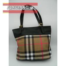 Дамска кожена чанта / 3381-11