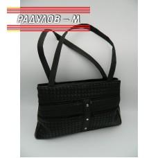 Дамска кожена чанта / 3381-16