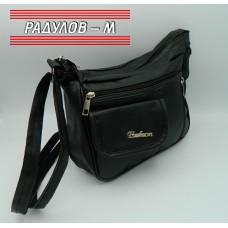 Дамска кожена чанта / 3381-18