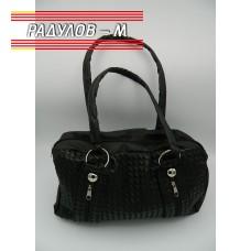 Дамска кожена чанта / 3381-19