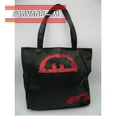 Дамска кожена чанта / 3381-2