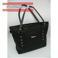 Дамска кожена чанта / 3381-21
