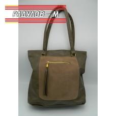 Дамска кожена чанта / 3381
