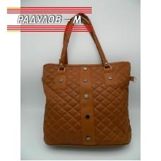 Дамска кожена чанта / 3381-5