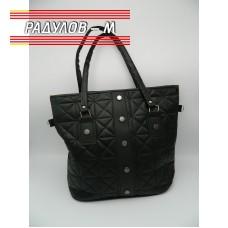 Дамска кожена чанта / 3381-6
