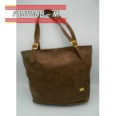 Дамска кожена чанта / 3381-8