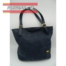 Дамска кожена чанта / 3381-9