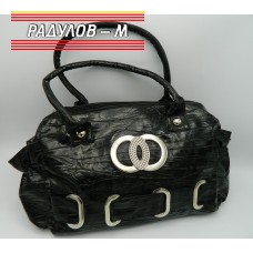 Дамска лачена чанта / 3387-15
